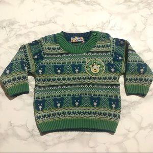¡¡💕2/$20!! Vintage Kids City Knit Sweater PIB